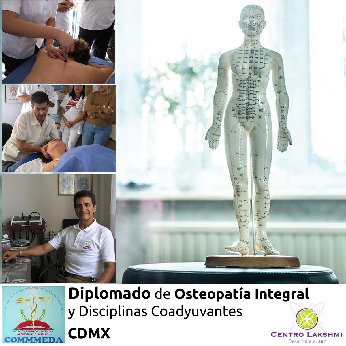 Centro Lakshmi - Taller Diplomado Osteopatia